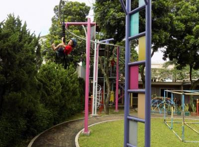 Long and Curve Flying Fox