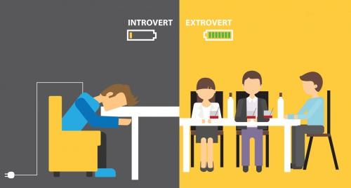 Cara Komunikasi Introvert dan Ekstrovert