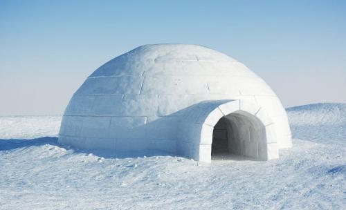 Igloo, Rumah Orang Inuit
