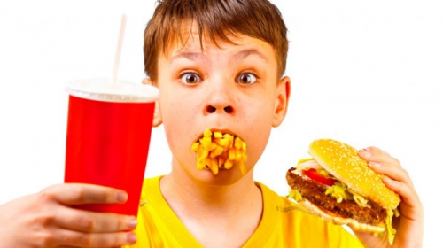 """Katakan """"TIDAK"""" Jika Anak Anda Minta Junk Food"""