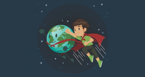 Manusia Sebagai Pahlawan Alam