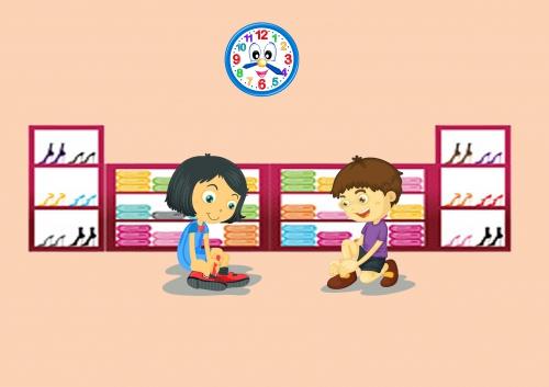 Memilih Sepatu Anak yang Pas